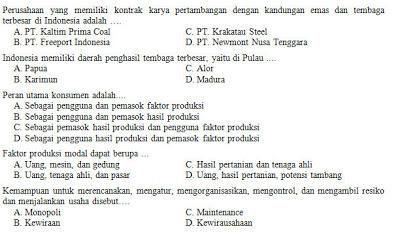 Kisi Kisi Soal Dan Kunci Jawaban Ips Smp Kelas 8 Semester Genap Kurikulum 2013 Kurikulum Smp Politik