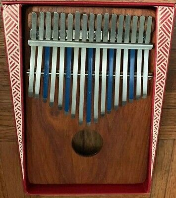 Vintage Hugh Tracey Treble 17 Note Kalimba Thumb Piano Made In