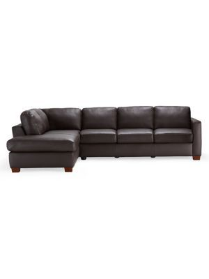 Magnificent Natuzzi Editions Amalfi Leather Sectional Sofa With Chaise Andrewgaddart Wooden Chair Designs For Living Room Andrewgaddartcom