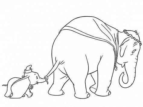 Disegni Da Colorare Di Disney Dumbo Disegni Da Colorare E