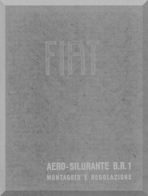 FIAT BR.1 Aircraft Maintenance Manual, Montaggio e
