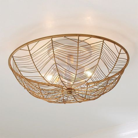 Check Out Young House Love Wire Basket Ceiling Light 2 Light