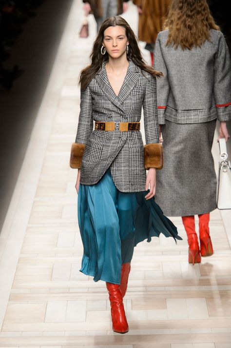 Here, see every look from the Milan Fashion Week Fendi Fall 2017 runway show.