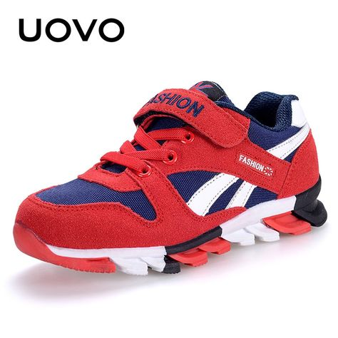 a70294d51 $42.12 - Nice UOVO Spring Autumn Boys Sneakers Children Shoes Canvas  Man-made Suede Kids Shoes Fashion Sport Footwear - Buy it Now!