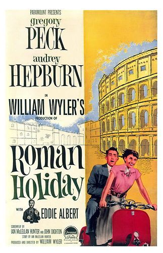 Roman Holiday Poster U s A Art Style B Unique at eBay Only $6 99 | eBay