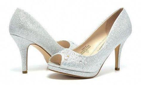 7527693c6a6 Zapatos plateados de mujer baratos  zapatosmujer  Designerhandbags ...