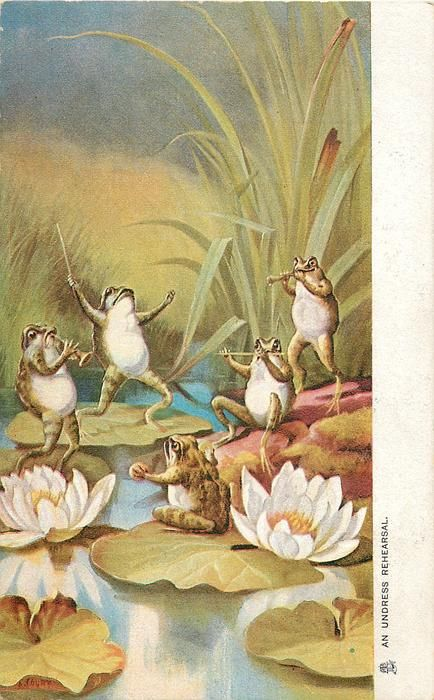 band of five frog musicians rehearse on lily pads Psychedelic Art, Animal Art, Cute Art, Art Collage Wall, Frog Illustration, Illustration Art, Frog Art, Pretty Art, Fairytale Art