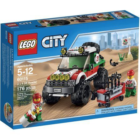 Retired LEGO CITY Set 60058 SUV with Watercraft New /& Factory Sealed