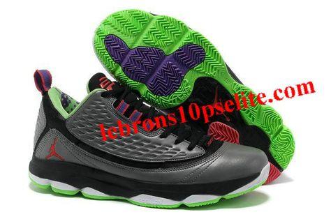 new arrival e88a5 5eed7 Jordan CP3.VI AE Wolf Grey Bright Crimson-Dark Grey-Electric Green Dr.  Jekyll