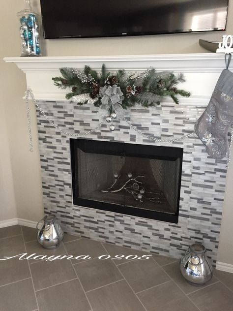 fireplace ideas peel and stick tiles gray floor porcelain tile rh pinterest co uk
