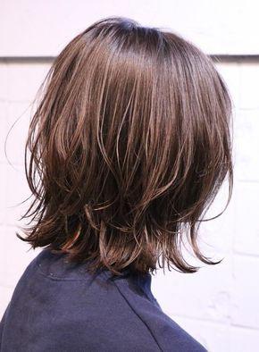 束感が可愛い 外ハネボブ 髪型ミディアム ヘアスタイル ボブ