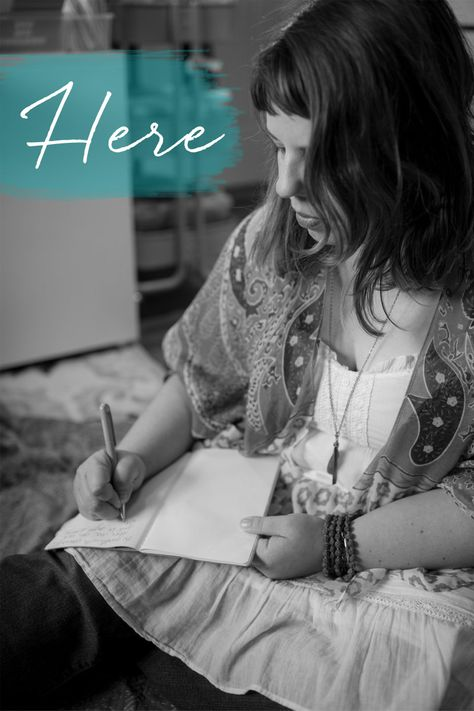 Here: a journaling ecourse