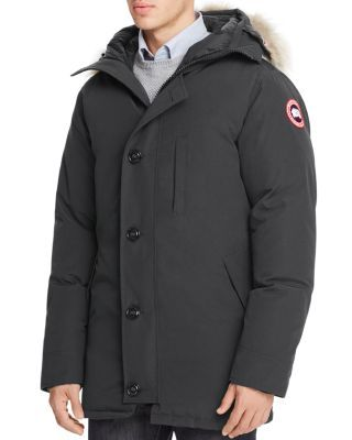 Canada Goose Chateau Parka With Fur Hood Men Bloomingdale S In 2020 Canada Goose Fur Hood Parka
