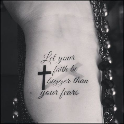 Temporary tattoo religious tattoo faith cross by SharonHArtDesigns