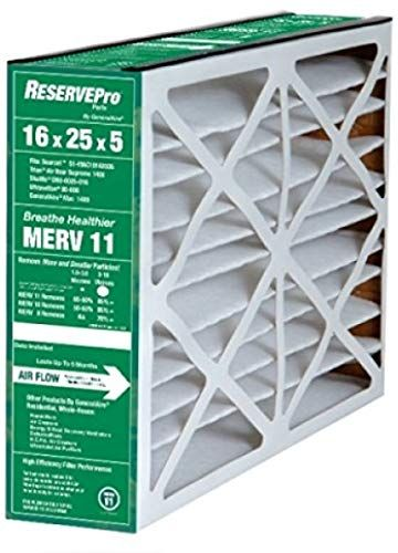 Amazing Offer On Reservepro 16x25x5 4511 Furnace Filter Actual Size 15 5 8 X 24 3 16 X 4 15 16 Case 2 Filters Online Air Filter Air Filter Sizes Furnace Filters