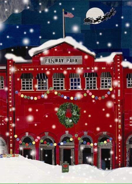 BOSTON RED SOX CHRISTMAS HOLIDAY PIN