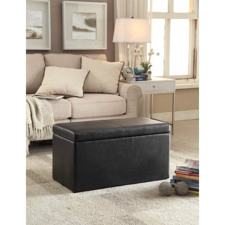 927f4ff6dbdf45817d0836042f8fb756 - Better Homes And Gardens 30 Hinged Storage Ottoman Brown