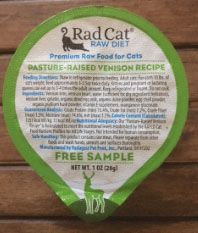 Radagast Pet Food Inc Voluntarily Recalls Three Lots Of Rad Cat