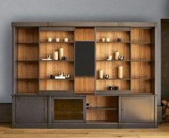 Bibliotheques Grange Composition 06 En 2020 Meuble Tele Bibliotheque Meuble Tv Haut Meuble Sejour