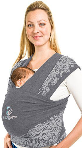 Moby Wrap Baby Carrier for Newborns Ideal for Baby Wearing Pacific and Keeping Baby Close Toddlers Soft Baby Sling Baby Wrap Breastfeeding