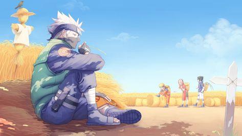 HD wallpaper: Kakashi from Naruto illustration, Anime, Kakashi Hatake, Naruto Uzumaki