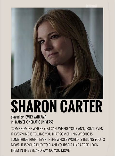 Sharon Carter by Millie