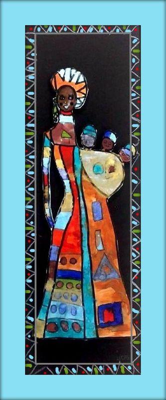 Les Doudous Africaines Le Tour De Mes Idees Des Projets D Art Africain Art Africain Traditionnel Afrique Art
