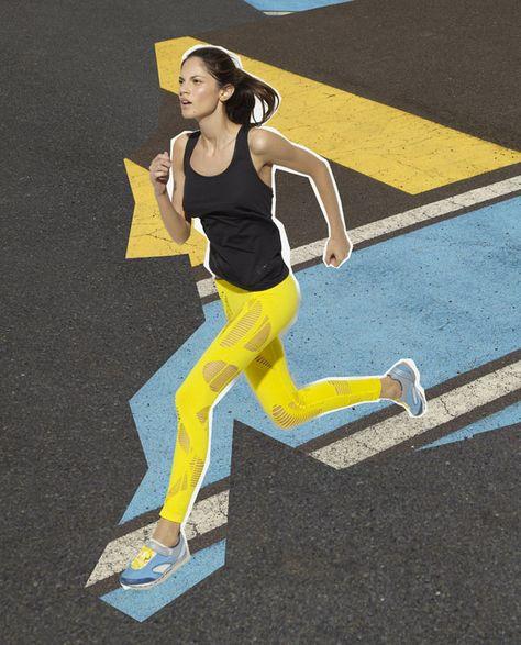 Stella McCartney x ADIDAS spring 2011 Ad - fitness inspiration for…