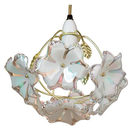 20cm Acrylic Novelty Pendant Shade With Images Glass Pendant Shades Flower Lamp Shade Metal Lamp Shade