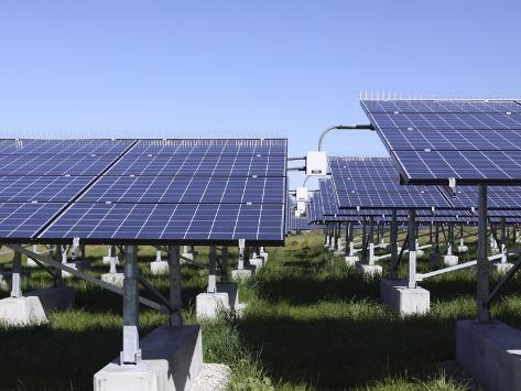 A Photovoltaic System Of Solar Cells Photographic Print Stocktrek Images Art Com In 2020 Best Solar Panels Solar Energy Panels Solar
