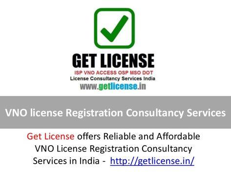 VNO license Registration Consultancy Services India