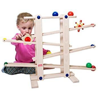 Top Bright Kugelbahn Autos Holz Ab 1 Jahr Auto Rennbahn Holz Spielzeug Holz Kinderspielzeug 1 2 Jahre Jungen In 2020 Wooden Marble Run Sustainable Toys Toddler Toys