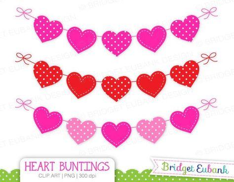 Valentines day banner. Pinterest
