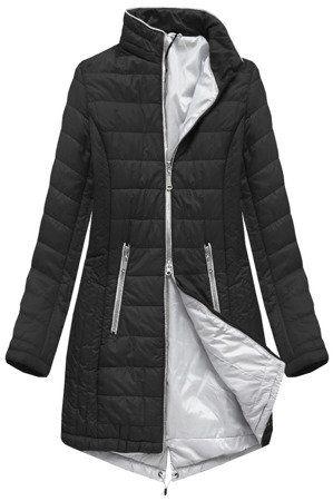 Dluga Pikowana Kurtka Czarna B1088 30 Jackets Winter Jackets Fashion