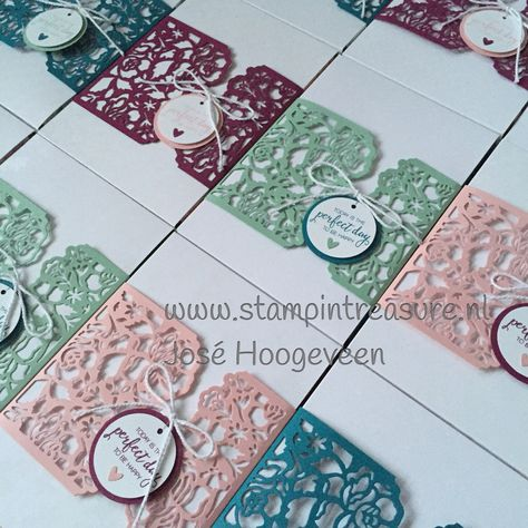 Stampin Up bestellen, detailed floral thinlits, Stampin treasure, box, label, verpakking, doosje