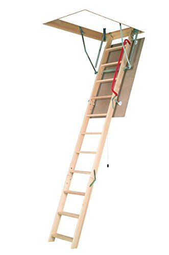Fakro Lwn P 22 1 2inx54in Wooden Basic Non Insulated Attic Ladder 250lbs 10ft 1in For Sale Https Laddersathome Review Fa Attic Ladder Floor Renovation Ladder
