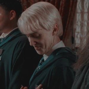 stuff — draco malfoy and hermione granger icons // order. Draco Harry Potter, Harry Potter Icons, Mundo Harry Potter, Snape Harry, Harry Potter Characters, Fictional Characters, Draco Malfoy Aesthetic, Slytherin Aesthetic, Hermione Granger