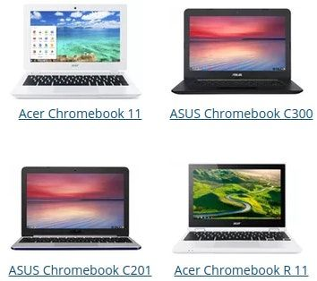 chromebook comparison chart: Find your perfect chromebook with our chromebook comparison chart