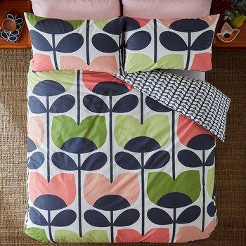 Orla Kiely Duvet Covers Shop Online At Amara Rose Duvet Rose Bedding Pink Duvet Cover