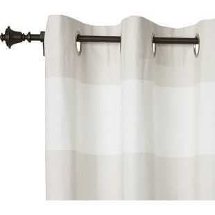 Red Barrel Studio Jerrie Single Curtain Rod Wayfair Single Curtain Rods Curtain Rods Curtain Rods And Hardware