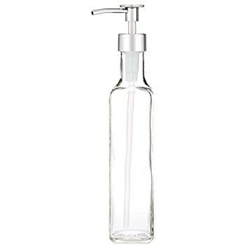 better famous brand sports shoes Amazon.com: French Vessel Glass Soap Dispenser with Metal ...