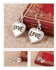 #Heart Earrings #ValentinesDay #Gift! #jewelry #onlineshopping #fashion #love #style https://goo.gl/Uxc6St