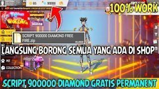 Script Terbaru Gratis 900000 Diamond Permanent Di Free Fire No Root Tutorial Cheat Freefire Cheating Tutorial Fire