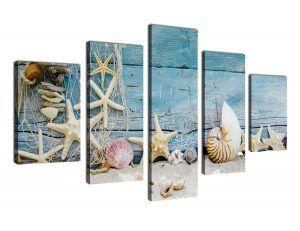 Amazon Com Wall Art Beach Sunset Canvas Artwork Tropical Ocean