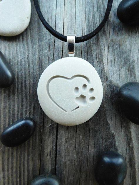 Paw Print Necklace, Pet Memorial Necklace, Paw Print Jewelry, Pet Initial Necklace, Dog Paw Necklace, Cat Paw Necklace, Pet Necklace