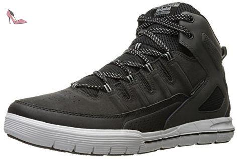 Segment Amson, Chaussures Lacées Hommes, Noir (Blk Noir), 43 EUSkechers