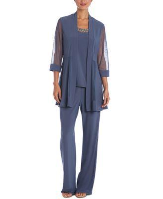 Macys Womens Dressy Pantsuits