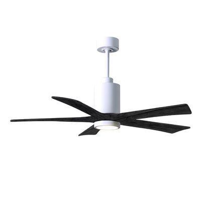 Ventilateur Plafonnier Avec Lumiere Patricia Pa5 Wh Bk 52 En 2020 Ventilateur Plafond Ventilateur Plafonnier