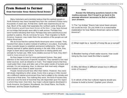 5th Grade Ela Worksheets To Print 2020 Reading Comprehension